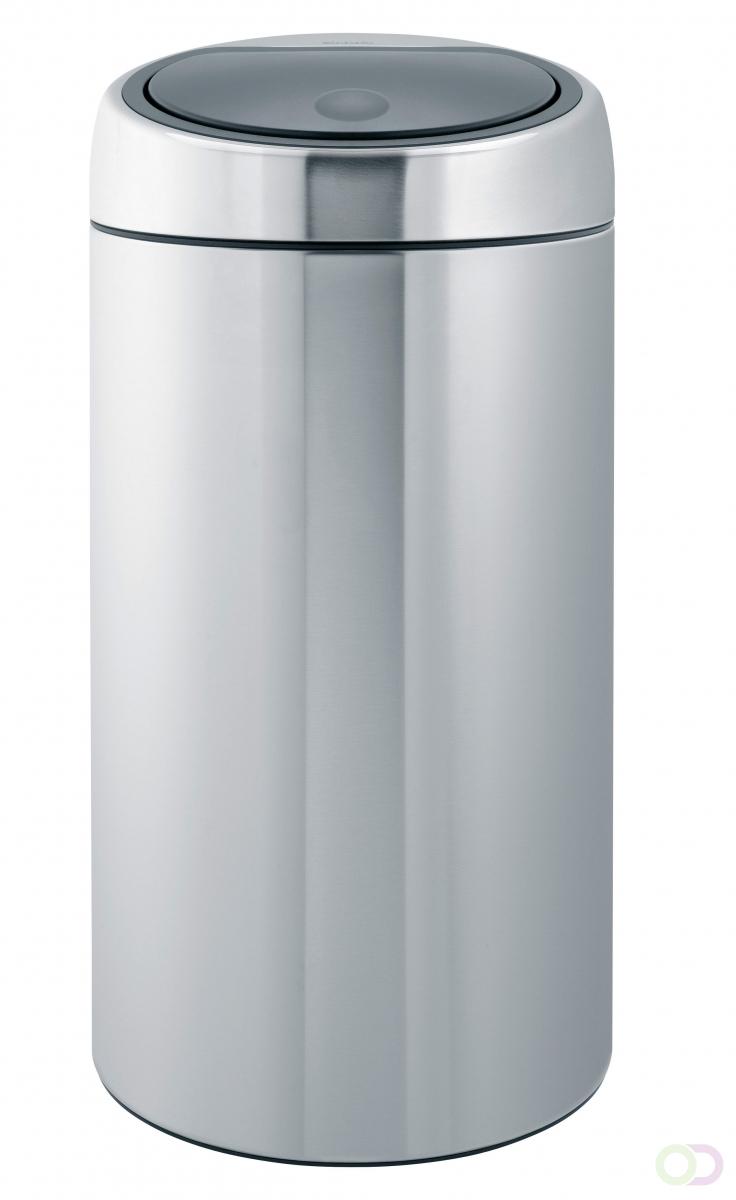 Brabantia Prullenbak 30 Liter Aanbieding.Afvalbak Brabantia Touch Bin 45 Liter Rvs