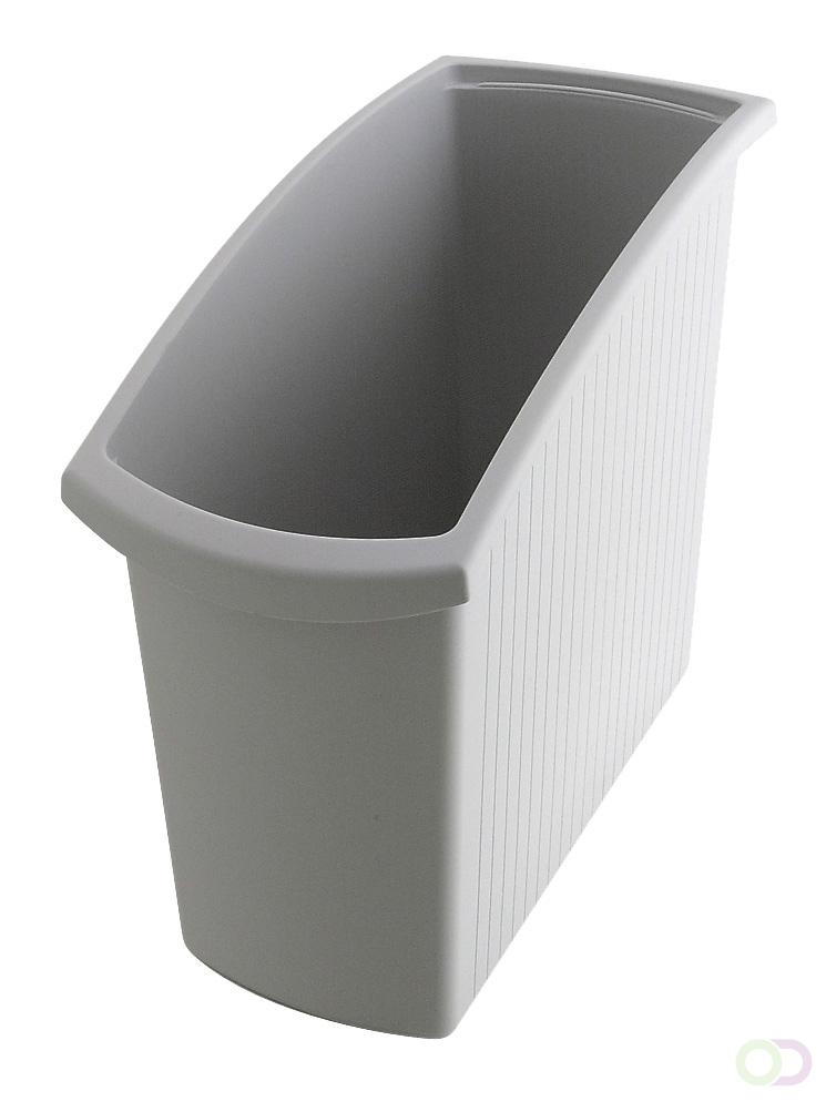 Merkloos Afvalbak Mondo 18 liter, Grijs