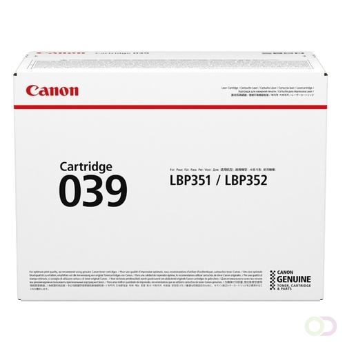 Canon CANON toner CRG 039 standard capacity yield 11.000 (0287C001)