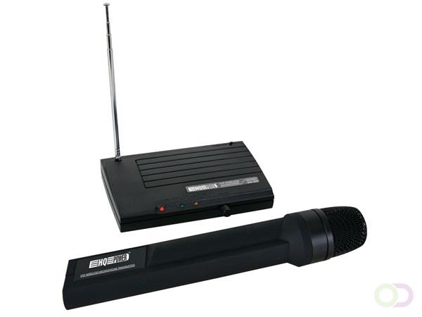 DRAADLOOS EENKANAALS VHF MICROFOONSYSTEEM 201.42MHz NED