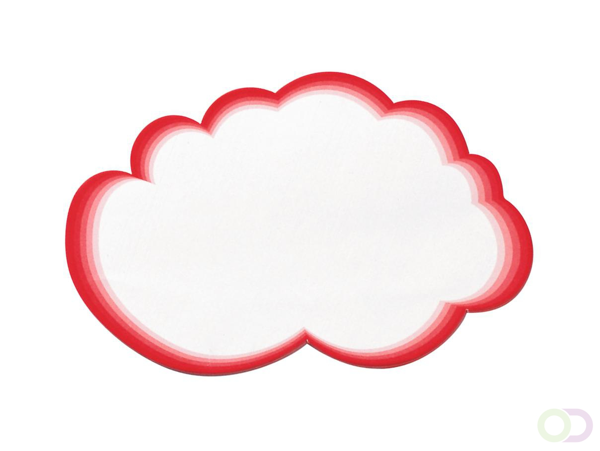 Grote wolken, set à 20 stuks
