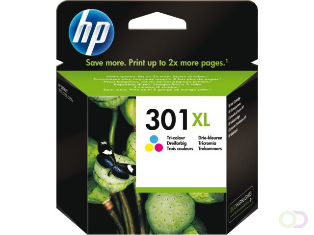 HP 301XL Inktcartridge HC (CH564EE)