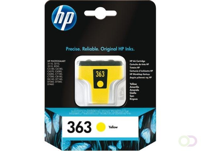HP 363 originele gele inktcartridge