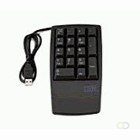Lenovo Keyboard NON 17keys numeric USB black