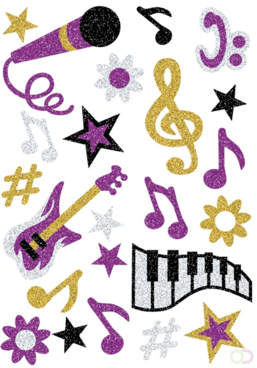 MAGIC Herma Muziek, glittery