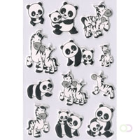 MAGIC Herma Panda- En Zebrafamilies, Vilt