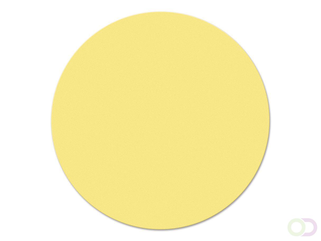 Ronde kaarten 14 cm, 250 stuks geel