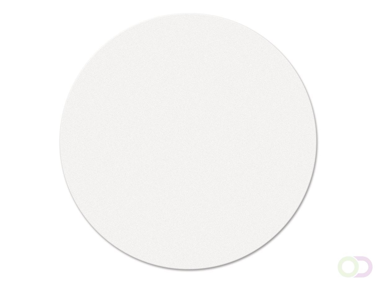 Ronde kaarten 14 cm, 250 stuks wit