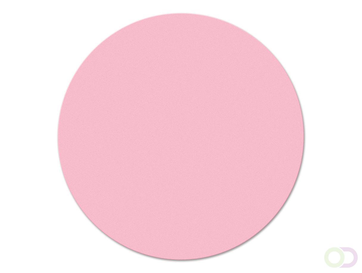 Ronde kaarten 14 cm, 500 stuks roze