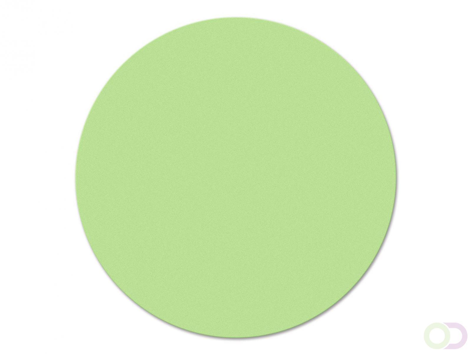 Ronde kaarten 19 cm, 500 stuks groen