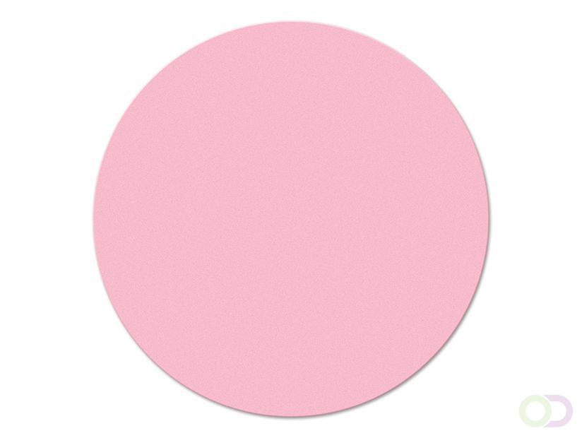 Ronde kaarten 10 cm, 250 stuks roze