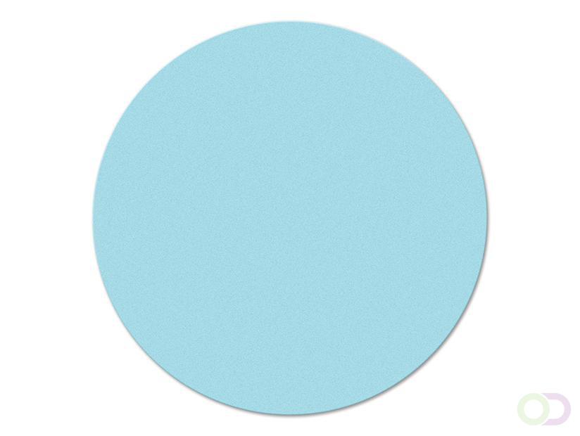 Ronde kaarten 10 cm, 250 stuks lichtblauw