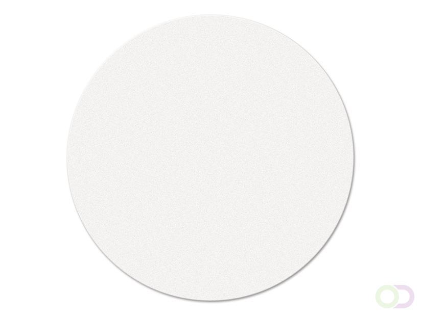 Ronde kaarten 10 cm, 250 stuks wit