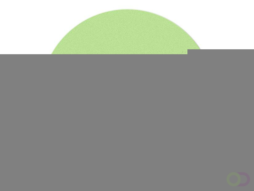 Ronde kaarten 10 cm, 500 stuks groen