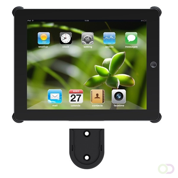 Newstar IPAD2-WM10BLACK flat panel muur steun