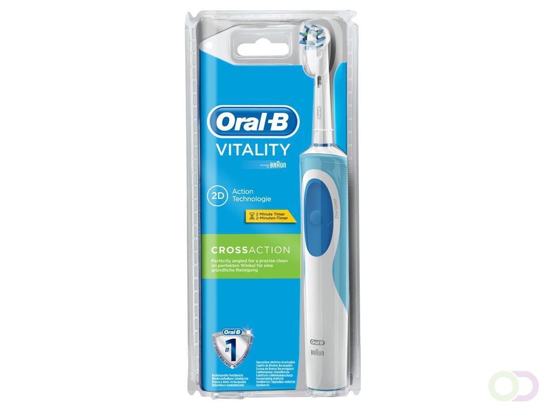 Oral B Vitality Cross Action 2d Action Elektrische Tandenborstel Voordeelverpakking