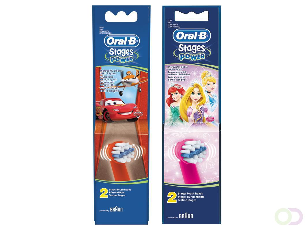 Oral B Stages Power Opzetborstels Voordeelverpakking