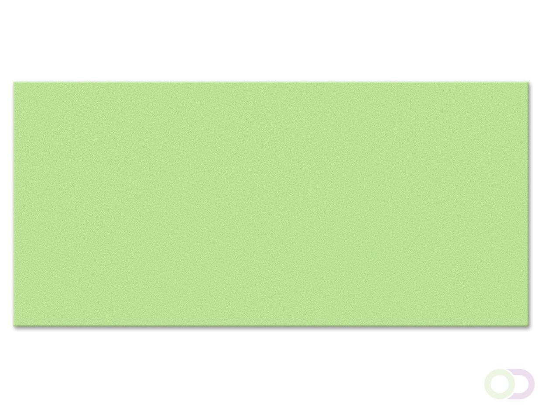 Rechthoek kaarten, 250 stuks groen