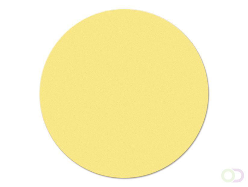 Ronde kaarten 10 cm, 500 stuks geel