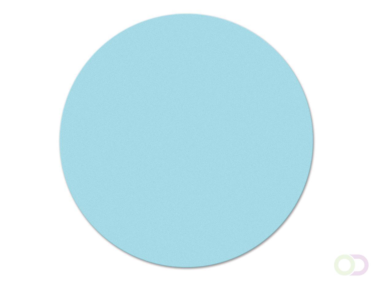 Ronde kaarten 14 cm, 250 stuks lichtblauw