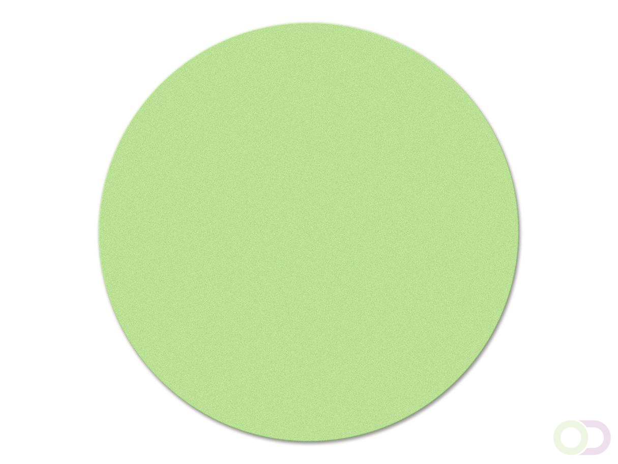 Ronde kaarten 14 cm, 500 stuks groen