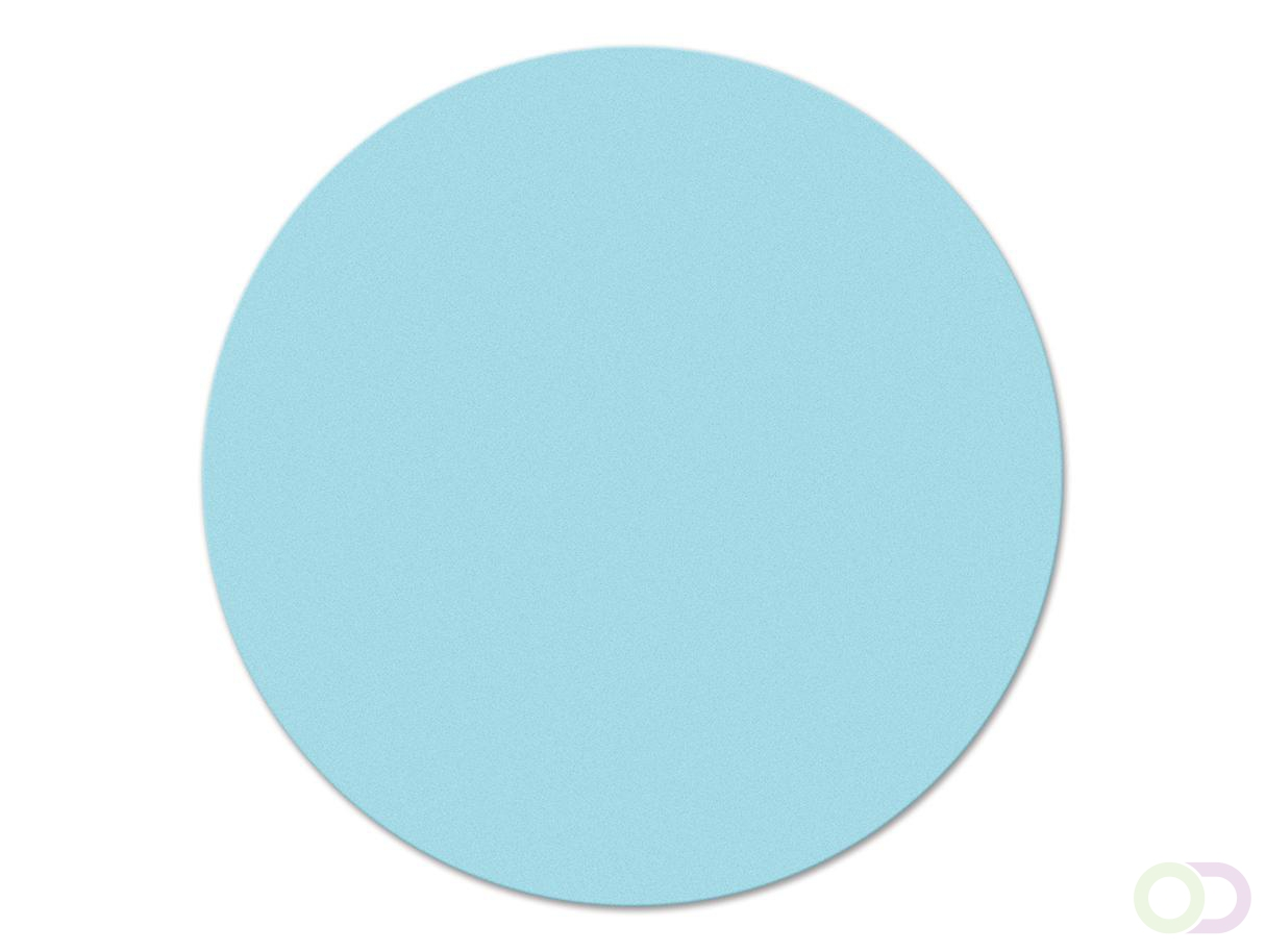 Ronde kaarten 14 cm, 500 stuks lichtblauw