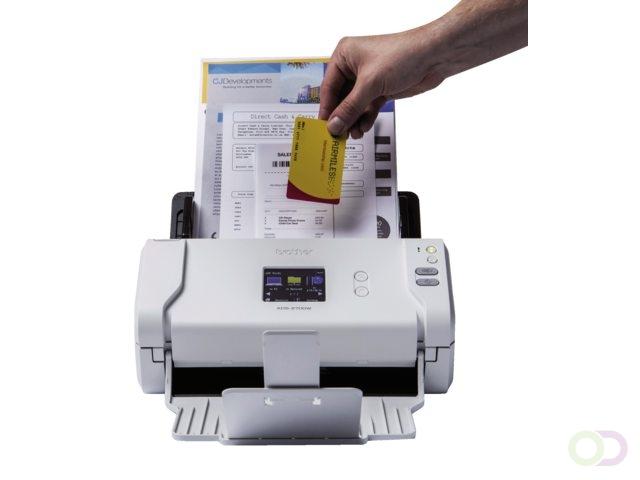 Brother ADS-2700W ADF scanner 600 x 600DPI A4 Zwart, Wit scanner