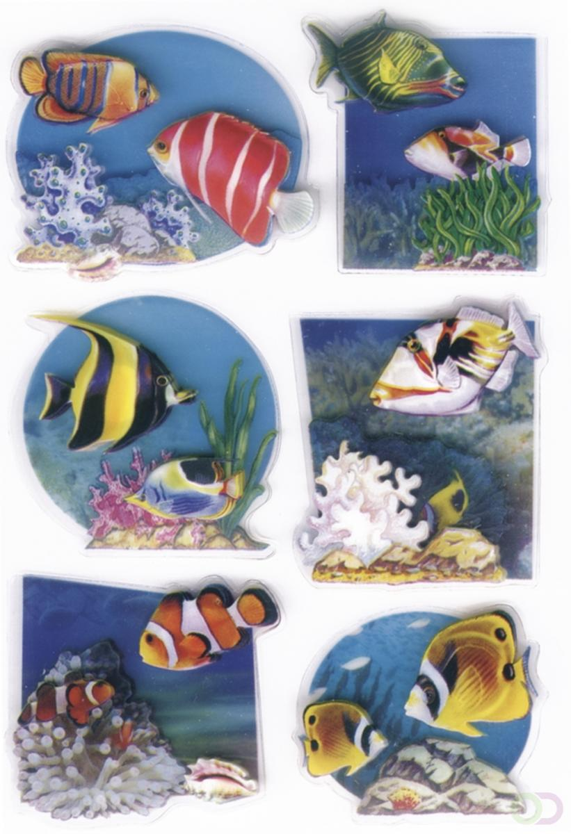 Sieretiketten Herma MAGIC fishes, 3d folie 1vel