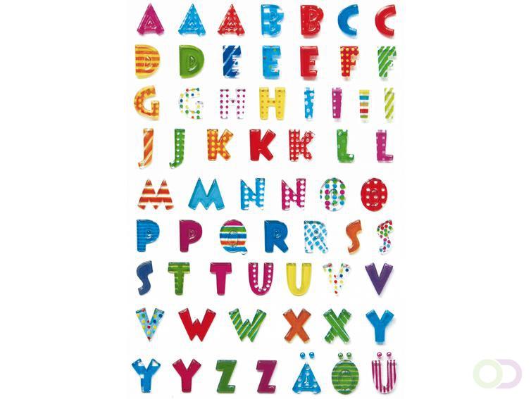 Sieretiketten Herma MAGIC Letters stone preeg