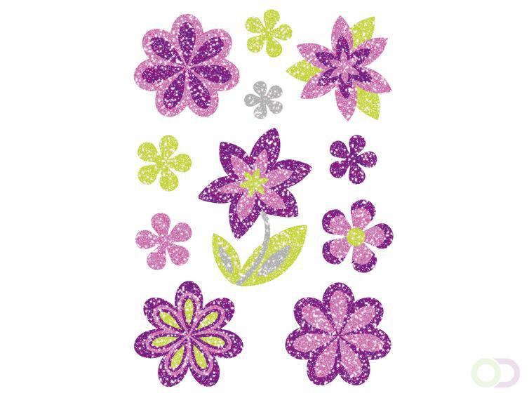 Sieretiketten Herma MAGIC de diamant glittery van Bloemen