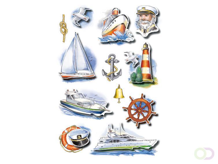 Stickers Herma MAGIC scheepvaart, glittery