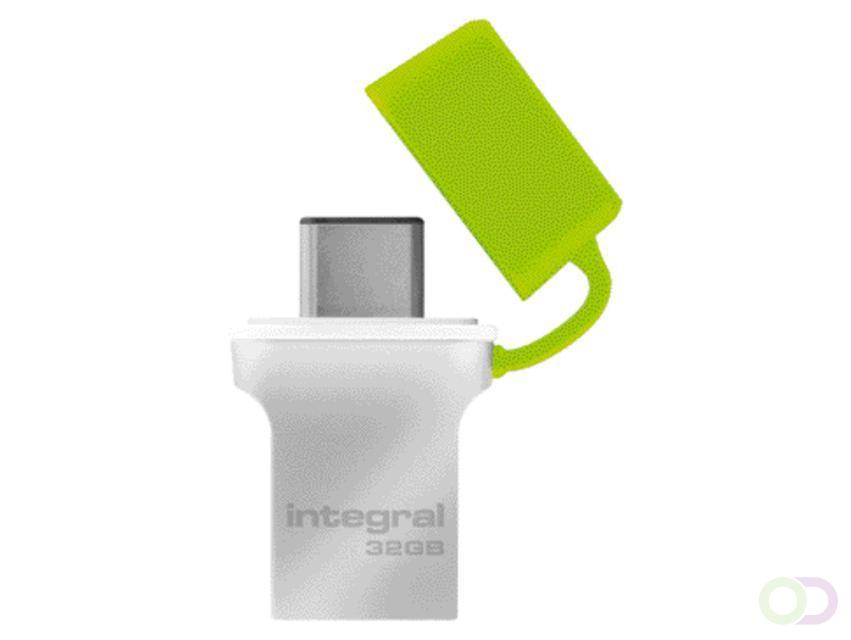 Integral 32GB Fusion Type-C USB 3.0 Flash Drive
