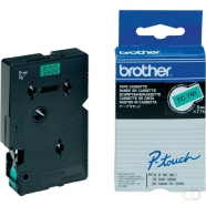 BROTHER P-Touch TC-791 black on green 9mm