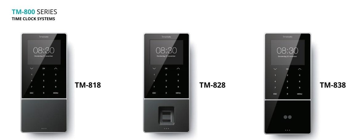#Hoe de TimeMoto TM-800 Serie eruit ziet